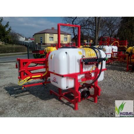Opryskiwacz  600 litrów 15m Rozdzielacz stałociśnieniowy końcówka potrójna LISICKI