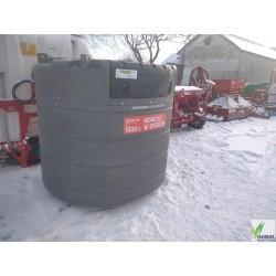 Zbiornik na paliwo ON 1500L rope dwupłaszczowy z dystrybutorem Fortis